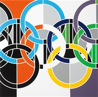 1984 [rings] by sarah morris